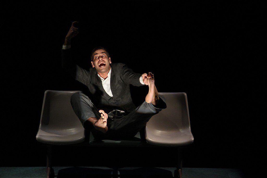 """Theater -  """"The suffering of the unemployed, and the Right to Laziness"""""""