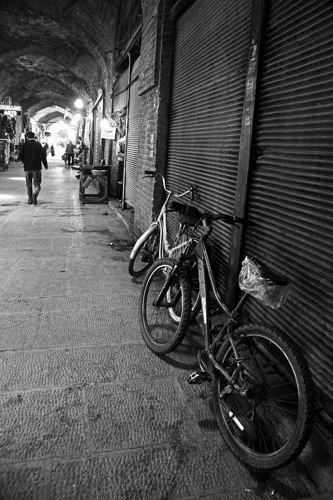 At the bazaar of Isfahan.